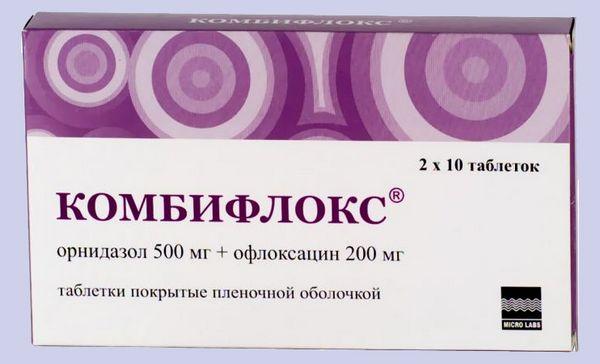 Комбифлокс в таблетках