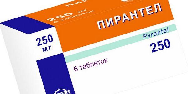 Пирантел выпускается в таблетках и суспензии