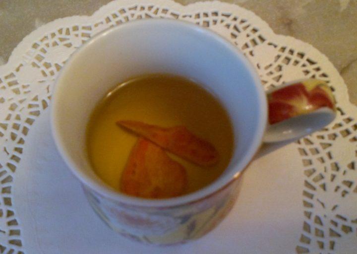 Чай из корок граната