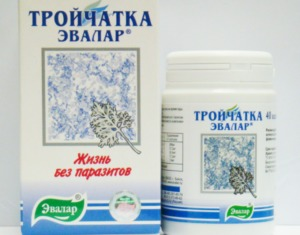 Лекарственный препарат Тройчатка Эвалар: инструкция по применению