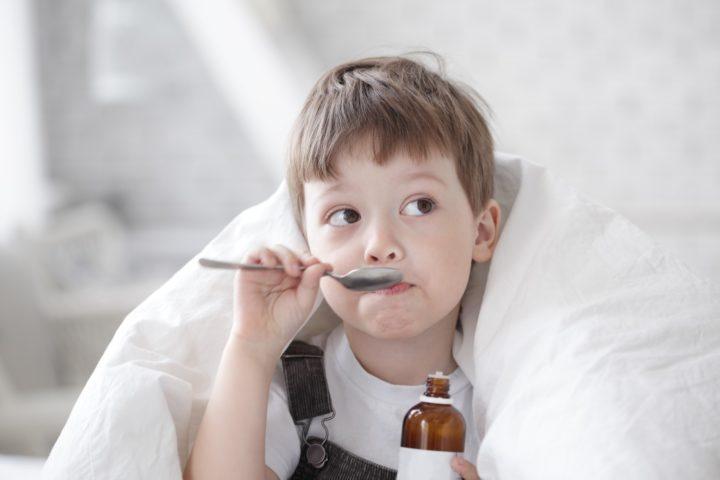 Суспензия назначается ребенку с 6 лет