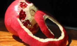Гранатовые корки - рецепты от глистов