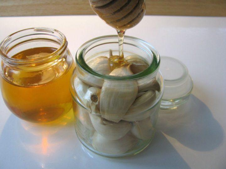 Настойка чеснока с медом