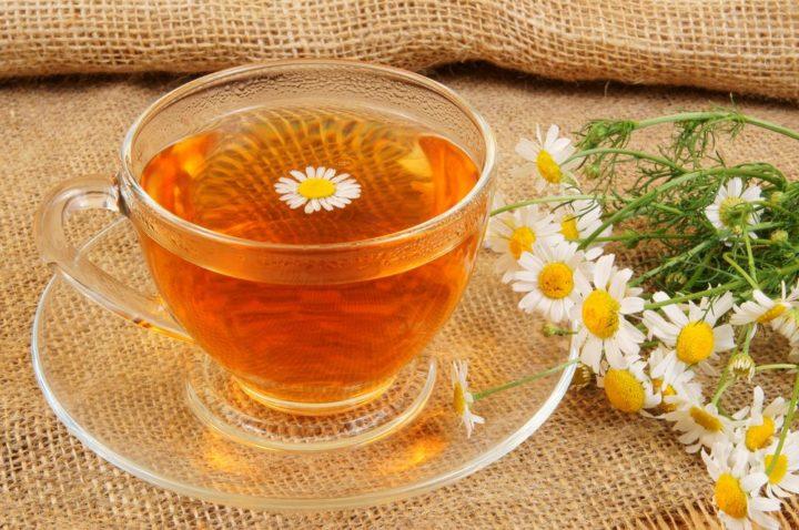 Чай из лекарственной ромашки